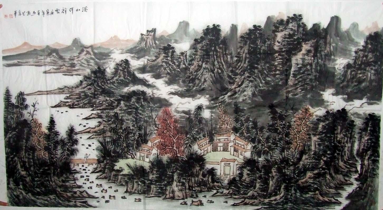 圆明园遗址图片
